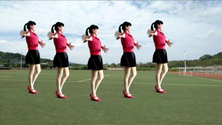 点击观看《欢快时尚入门广场舞 哥不是高富帅 歌曲好听有意思 简单易学》