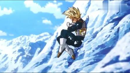 龙珠超: 最强对战最强, 卡卡罗特贝吉塔合体, 布罗利太强了!