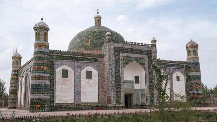 343.[人在旅途中].喀什噶尔之香妃墓.艾提尕尔清真寺.1080P