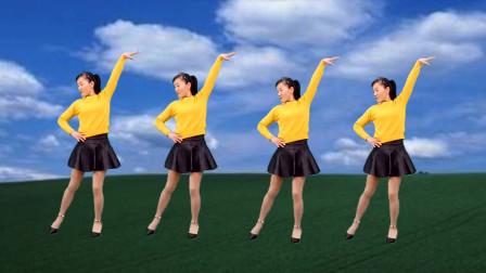 点击观看《玫香广场舞 红尘花一朵 32步附正背面教学分解视频》
