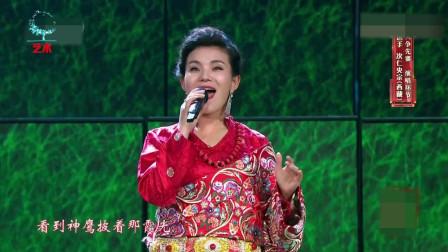 次仁央宗现场翻唱韩红的成名曲, 一开嗓, 就超越原唱