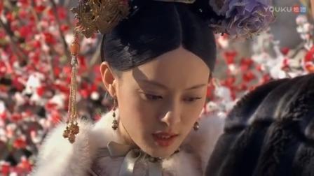 甄嬛传:甄嬛倚梅园用蝴蝶争宠,皇上心疼,果郡王的表情亮了!