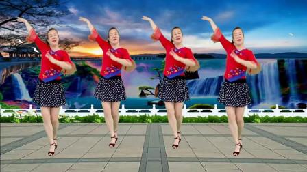点击观看《怀旧金曲广场舞 你怎么说 32步附教学 一看就会的动作分解》