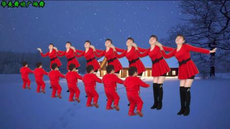 点击观看《华美舞动广场舞 铃儿响叮当 简单欢快步子舞 圣诞节迟来的舞蹈》