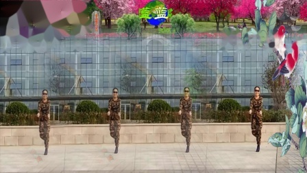 点击观看《好心情蓝蓝广场舞 水兵舞 卓玛与玫瑰 正背面 编舞温州燕子》