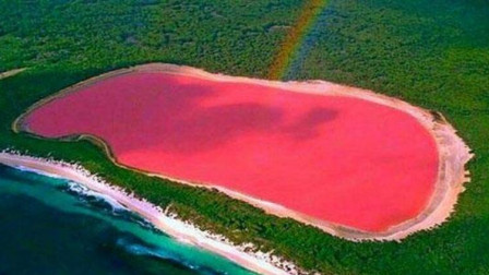 最具有少女心的湖泊, 粉红色的希勒湖, 美得令人难以置信!