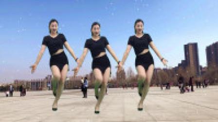 青青世界广场舞 抒情韵律广场舞很有味道哦