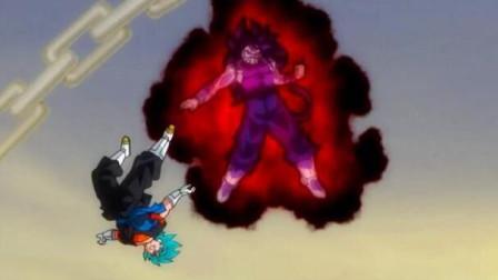 龙珠英雄: 恶之赛亚人实在太强大, 超蓝贝吉特开界王拳都打不过!