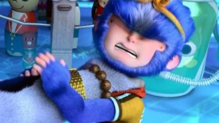 惨!小猴子嘲笑牛魔王,金箍棒都给你打断掉