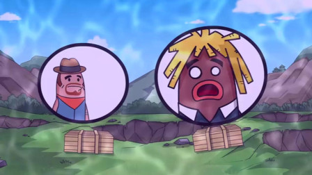 搞笑吃鸡动画: 瓦特丢下霸哥开车带萌妹跑毒, 什么十年革命友谊都是假的