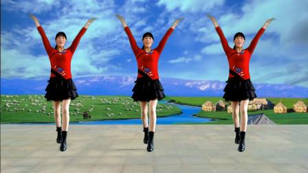 阿真广场舞 活力健身舞《火火的情郎》动感大气 简单好看