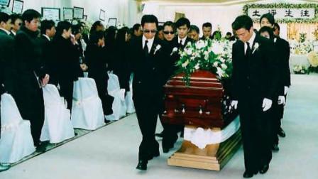当年梅艳芳葬礼全过程: 刘德华扶灵落泪, 和张国荣同地点火葬