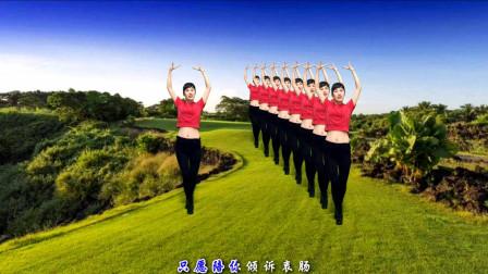 点击观看《钦钦广场舞 2019新32步广场舞《火火的情郎》东方红艳歌声真好听, 舞蹈简单大气》