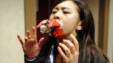 开了挂的日本寿司, 不仅会吃肉还会上天, 这让吃货们如何是好?