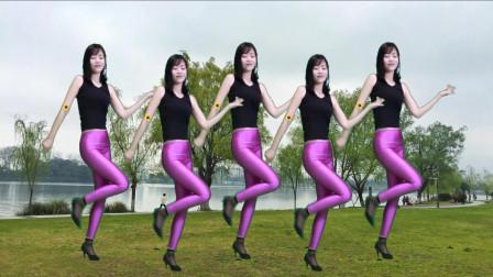 点击观看《小君舞蹈秀 凤凰传奇 溜溜的情歌 好看的女人跳的广场舞》