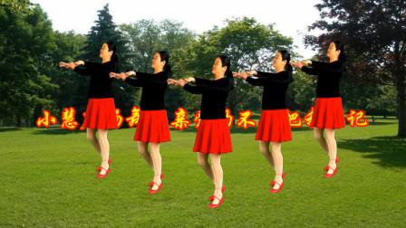 点击观看《小慧广场舞 亲爱的不要把我忘记 零基础32步 优美大方附舞蹈教学》