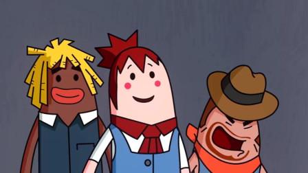 搞笑吃鸡动画: 一个柜子难倒一群英雄汉, 躺着吃鸡说的就是萌妹你们吧