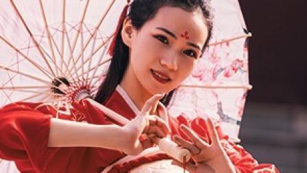 中国舞/洛阳星尘桃花湖,江南依人《落花雨》
