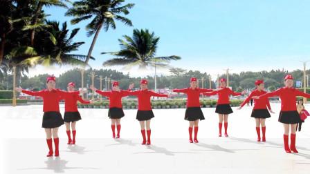 浪漫爱情广场舞《心中的月亮》送给幸福的你!