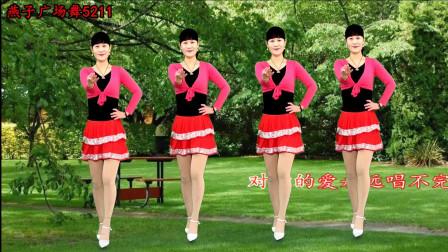 点击观看《燕子广场舞5211《红尘有缘》 简单32步附教学分解》