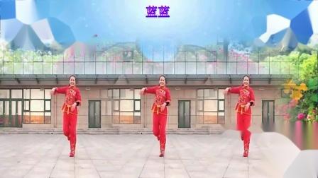 点击观看《好心情蓝蓝广场舞 向钱看 正背面 编舞青儿 俏皮健身舞》