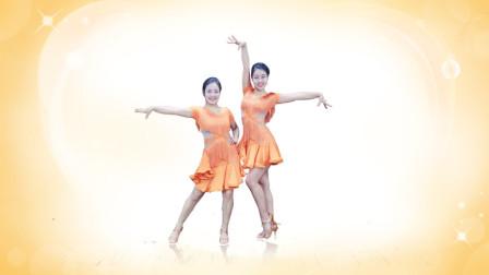 点击观看《糖豆广场舞《都说》拉丁健身操 正面示范》