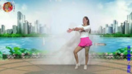点击观看《舞动人生广场舞 漂洋过海来看你 现代舞 双人版背面演示附动作分解教学》