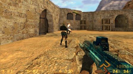 玩家打开CS1.6版本, 满满的都是回忆, 你有多久没玩过CS了?