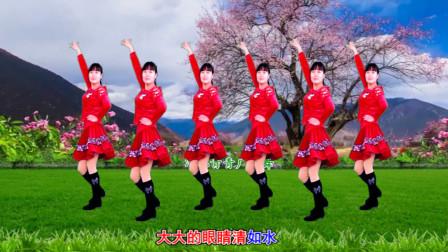 河北青青广场舞《姑娘姑娘你真美》32步附口令教学轻松学会