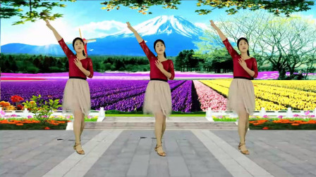 热门广场舞《你不来我不老》情歌对唱, 温馨甜蜜!
