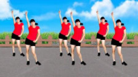 流行摆胯健身舞《38度6》简单16步广场舞