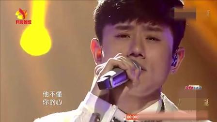 张杰深情演唱《他不懂》谢娜现场落泪, 画面感人! 好有爱!