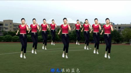 点击观看《钦钦广场舞 寒冬季节创意花样扭胯健身操》