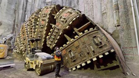日本花5亿造逆天隧道挖掘机, 长110米重7000吨, 真要挖穿地球?