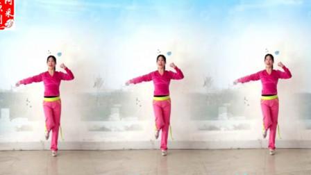 点击观看《阿采广场舞 多情的山丹 冬季减肥瘦身健身操》