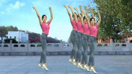 点击观看《青青世界广场舞 伤心的时候我也会流泪 0基础32步舞蹈视频》