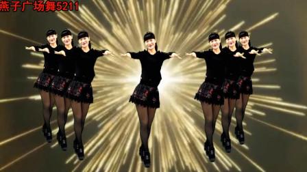 燕子广场舞5211《网络流行歌曲》摆胯现代舞风格系列舞蹈