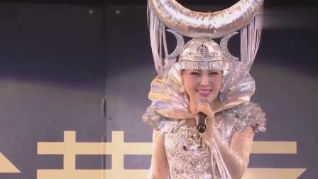 乌兰图雅演唱《小草》好听极了, 第一次听她唱蒙语歌曲!