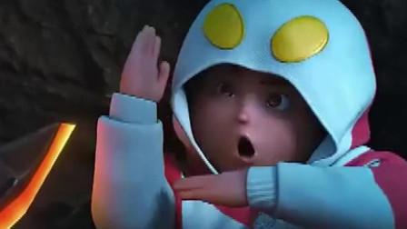 奥特曼本体竟是一个熊孩子? 小肥脸加八块腹肌, 怎么和说好的不一样?