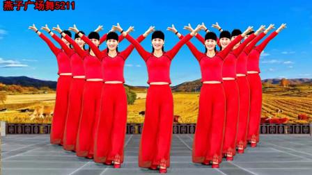 燕子广场舞5211《你爱我吗》中老年健身广场舞