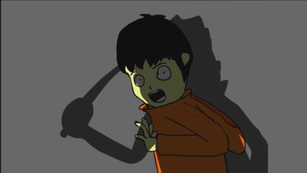 恐怖动画: 走夜路