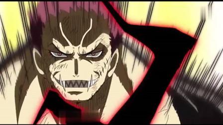 海贼王: 路飞的霸气不比红发弱, 霸王色碰撞实质化, 秒杀四皇干部