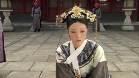 皇上惩罚华妃,中午跪罚两小时,华妃体力不支中暑晕倒!