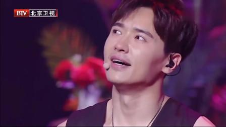 高云翔参加演出出状况,哭泣无力,台下都懵了