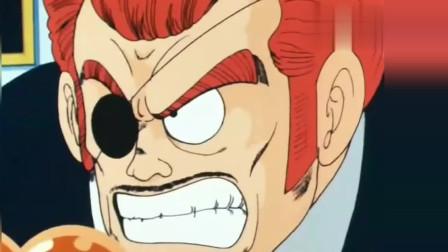 七龍珠:悟空沖進紅緞帶軍團總部,以一己之力硬剛強大的軍團。
