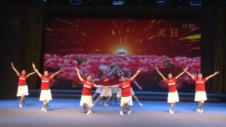 广场舞《歌唱祖国》,动作非常简单好学,很适合初学者!