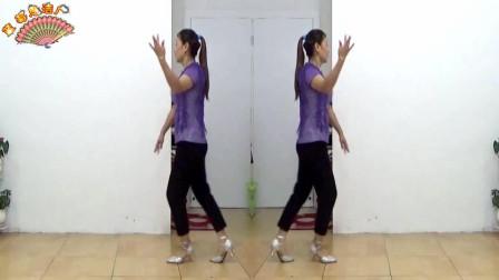 蓝莓思洁广场舞《动感桑巴》动感旋律的16步新颖的舞蹈