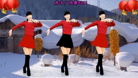 燕子广场舞5211《常回家看看》喜庆的舞蹈视频附分解教学