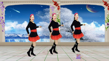 蓝天云广场舞 32步恰恰《抹去泪水》健身好看的广场舞教学分解视频