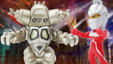 奥特曼converge系列之宇宙机器人金古桥玩具分享